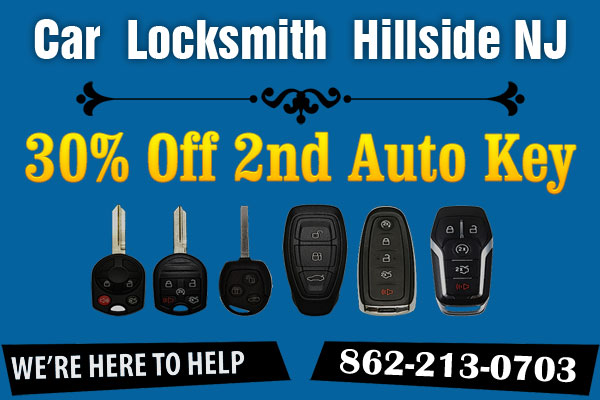 Car Locksmith Hillside NJ Coupon